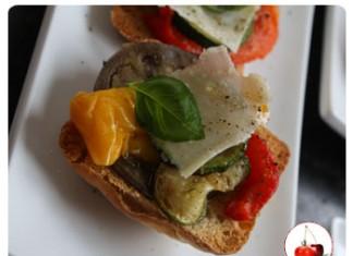 bruschetta aux légumes