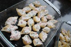 Concliclioni saumon ricotta