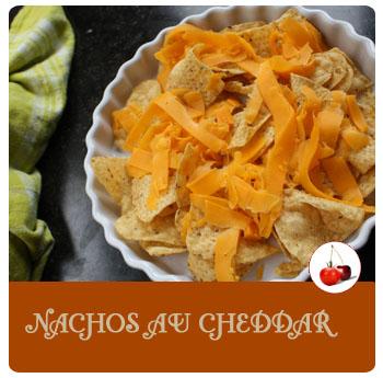 Nachos au cheddar
