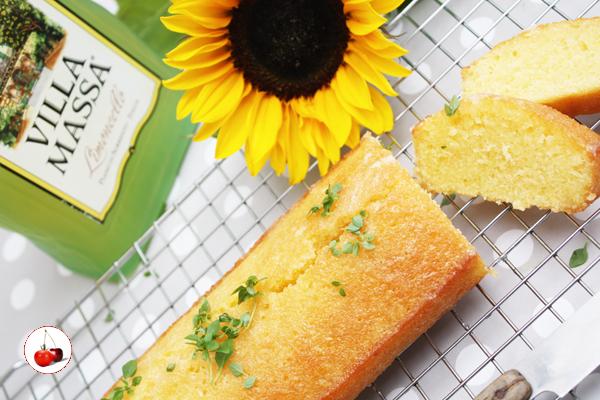 Cake Punché au sirop de citron et Limoncello Villa Massa