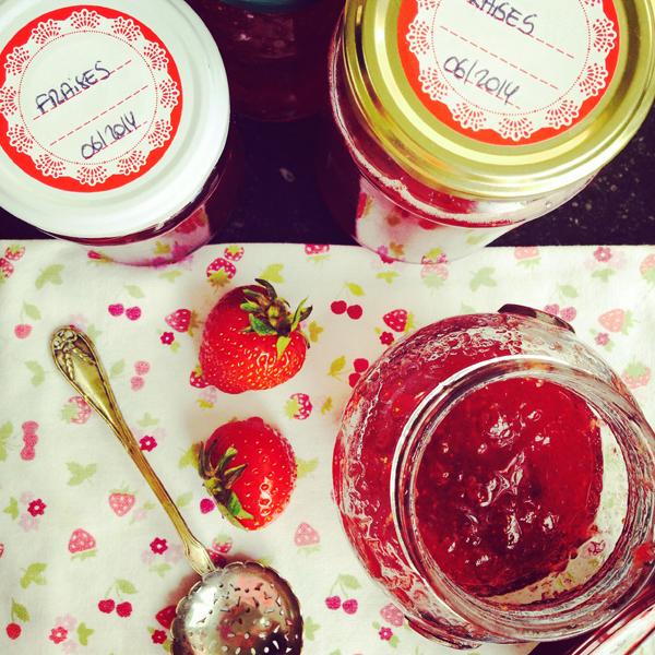Confiture de fraises - Tomate-Cerise