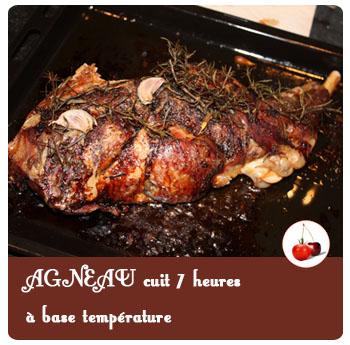 Agneau cuit 7 heures à base température