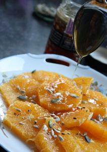 Salade d'oranges Apivita