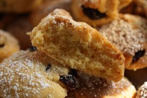 Biscuit aux cranberries et myrtilles