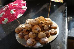 biscuit myrtilles cranberries