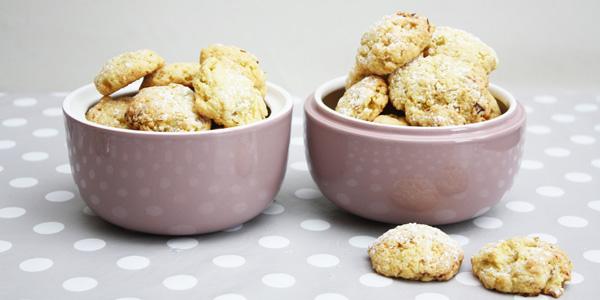 Biscuits à la rhubarbe