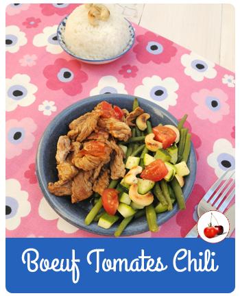 Boeuf Tomates Chili