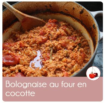 bolognaise en cocotte
