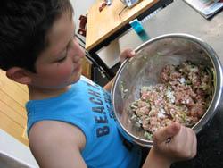 boulette courgettes
