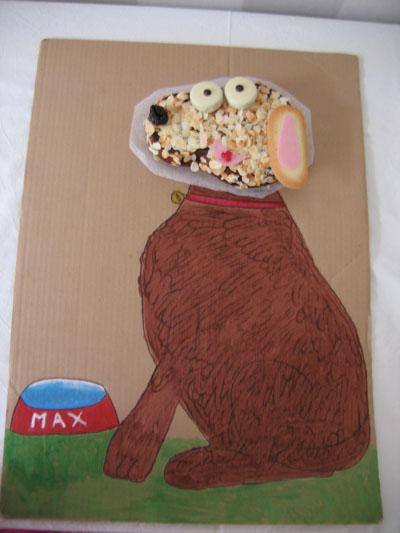 cake chien