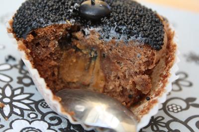 CAKE CHOCOLAT CŒUR FONDANT AU SPECULOOS