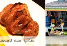 Canard aux épices façon Mékong