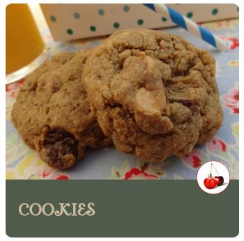 Cookies aux pépites de chocolat et de beurre de cacahouète