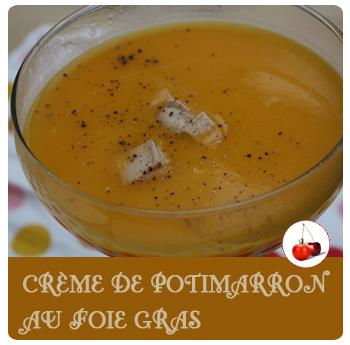 Crème de potimarron au foie gras | Une recette simple et chic