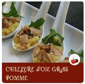 cuillère au foie gras