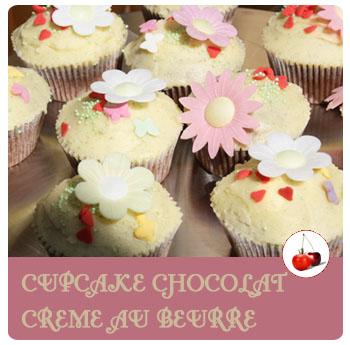 cupcake creme au beurre