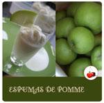 espuma de pomme