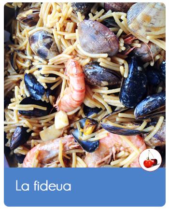 La fideua | Comme un risotto de petits spaghettis