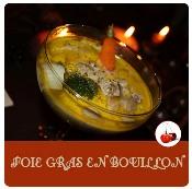 foie gras en bouillon