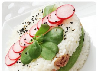 Gâteau de riz au thon