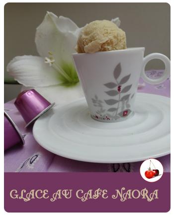 Glace au café Naora