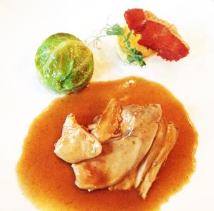 lunch au restaurant The Glorius*