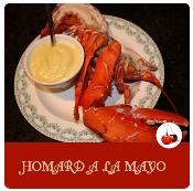 homard à la mayo