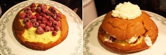 Igloo Cake préparation