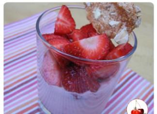 Mousse de fraises rapide