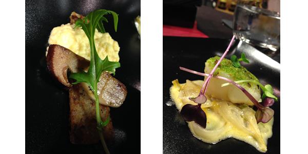 Œuf brouillé à la moutarde à la Truffe fraîche Maille