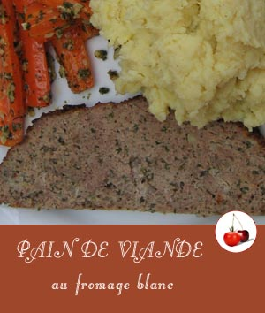 Pain de viande au fromage blanc | Une recette au four