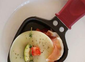 Raclette à l'italienne