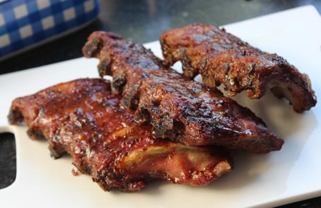 RIBS barbecue en cuisson lente