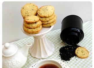 Sablés Earl Grey | Une recette au thé noir