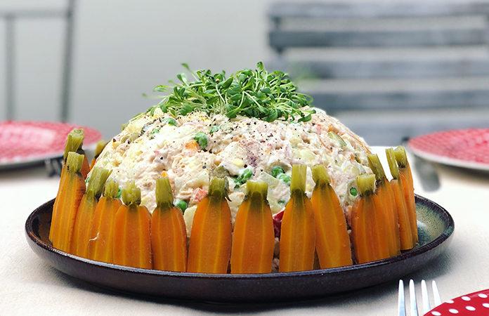 Salade russe à ma façon