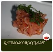 saumon croquant