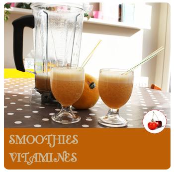SMOOTHIES : pamplemousse, banane, orange, citron