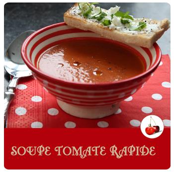 soupe tomate rapide. Black Bedroom Furniture Sets. Home Design Ideas