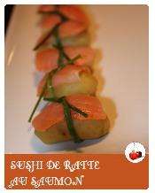 sushi de ratte au saumon