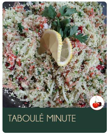 Taboulé minute