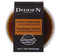 185306 confit hamburger ravier 150g
