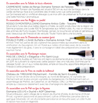 Assocation mets/vins page 38