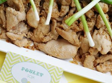 recette poulet soja