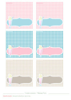 Atelier Milkshake - Sweet Table