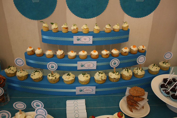 Cupcake Party - Turquoise
