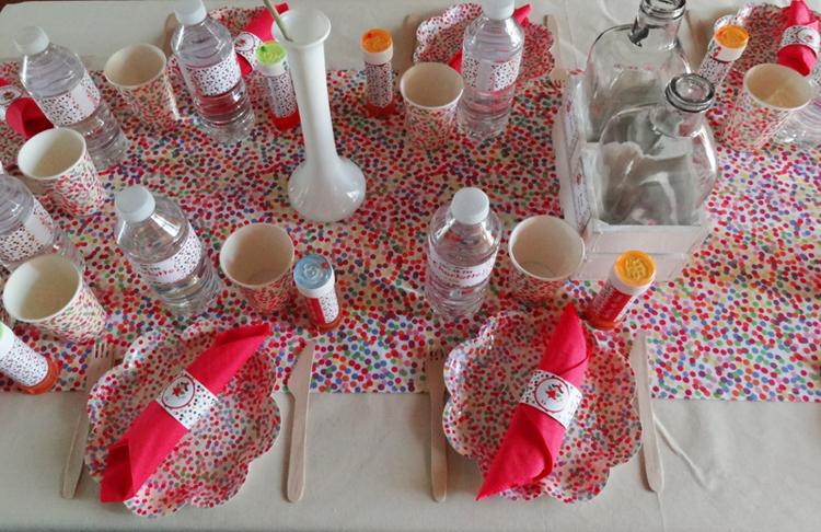 F E Une Sweet Table D 39 Anniversaire F Rique Et Color E