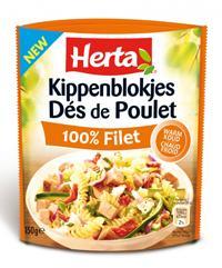 De__s de Poulet - Kippenblokjes