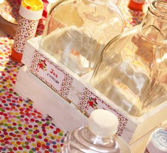 Sweet table - décoration anniversaire Fée