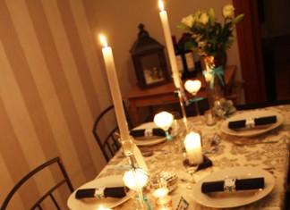 Décoration de table   Ce soir on dîne baroque