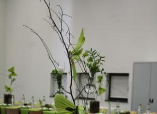 Décoration de table - Esprit nature et papillons